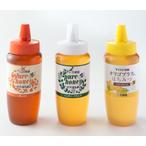 ハンガリー産アカシア蜂蜜・オリゴプラスはちみつ・メキシコ産オレンジ蜂蜜 各500g (3本セット)